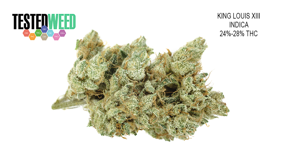 King Louis Xiii Indica Delivery Los Angeles Tested Weed